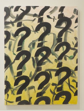 "Gregory Edwards, ""Chromosome ?"", 2012, oil on canvas"