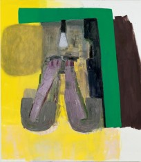 "Amy Sillman ""Someone Else's Dream"" 2015 oil on canvas 75x66"""