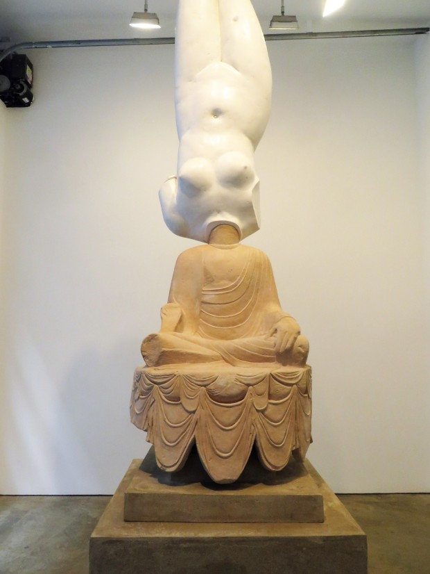 Eternity-Aphrodite of Knidos, Tang Dynasty Sitting Buddha 2014
